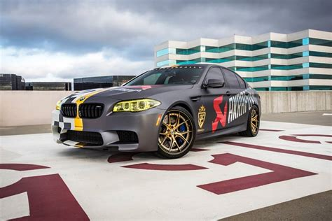 bmw rally 2014 custom akrapovic bmw m5 is ready for the 2014 goldrush