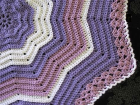 free knitted ripple afghan pattern free crochet ripple afghan pattern crochet and