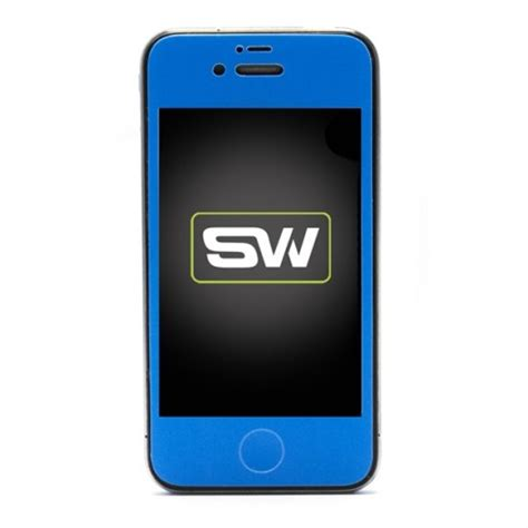 iphone 4 blue glow in the dark skins wraps and cases from