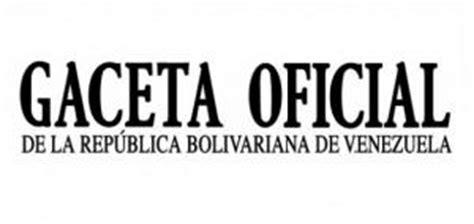 ultima hora gaceta oficial publica modificaciones de la portada de la gaceta oficial n 176 40 349 notiactual com