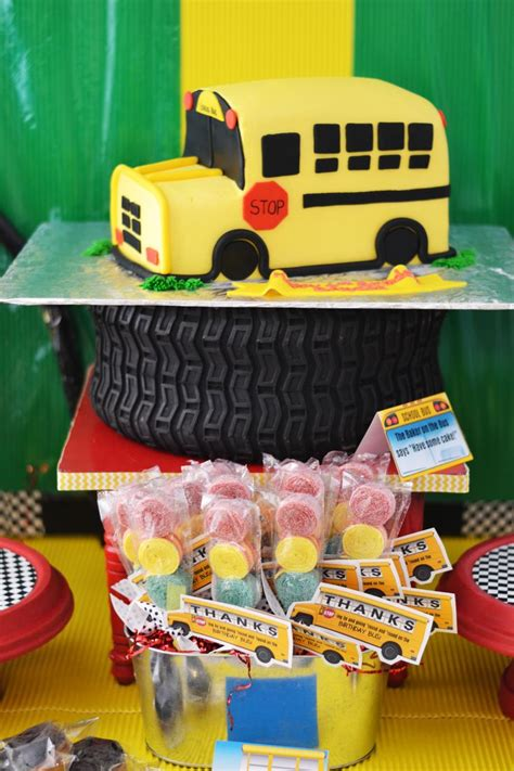 themed party bus 24 best images about school bus theme party ideas on