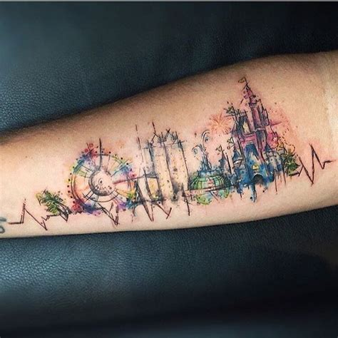 watercolor tattoo in london 25 best ideas about disney watercolor on