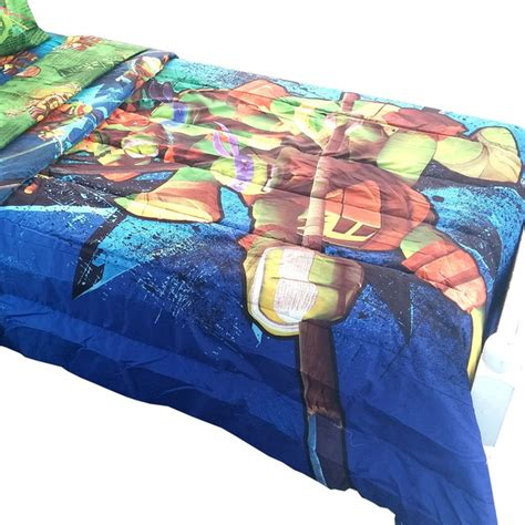 teenage mutant ninja turtles comforter full teenage mutant ninja turtles twin full comforter shell up