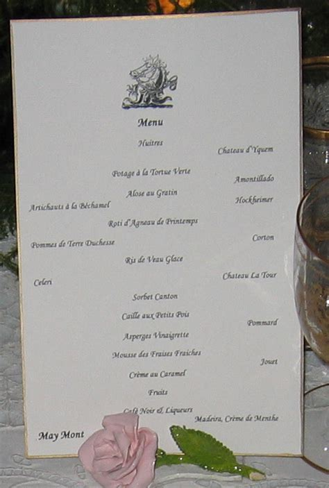 easy elegant dinner menus easy elegant dinner menus gracious life in maymont mansion