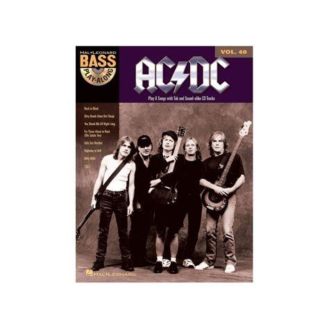 testi canzoni ac dc basi rock basso suona il basso con ac dc spartiti basso acdc