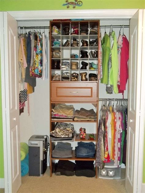 small storage closet small closet organization ideas small bedroom closet