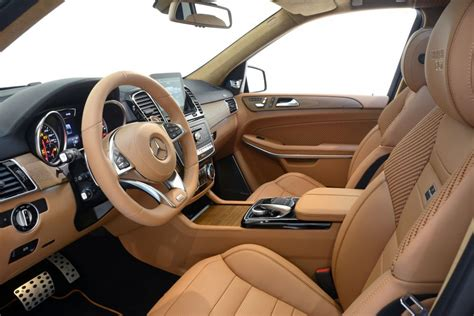 Interior Parts For Mercedes by Brabus Leather Alcantara Interior Trim For The