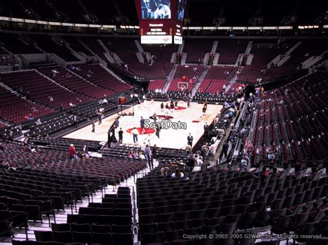 section 8 portland moda center section 207 portland trail blazers