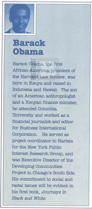 brief political biography of barack obama read the clip from harvard clearly states obama was born