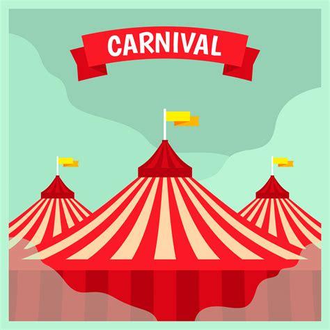 carnival poster template carnival poster template free vector stock