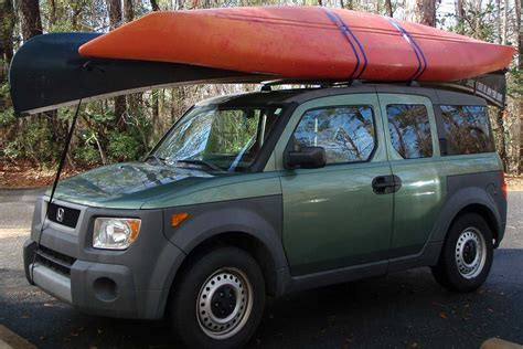 how to a canoe or kayak to a roof rack
