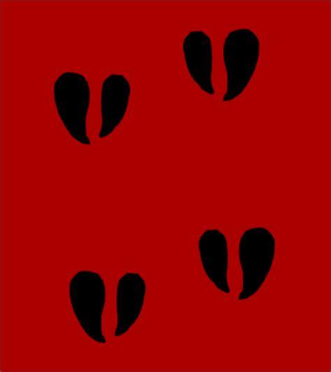 printable reindeer hoof prints pin cow hoof print reviews and photos on pinterest