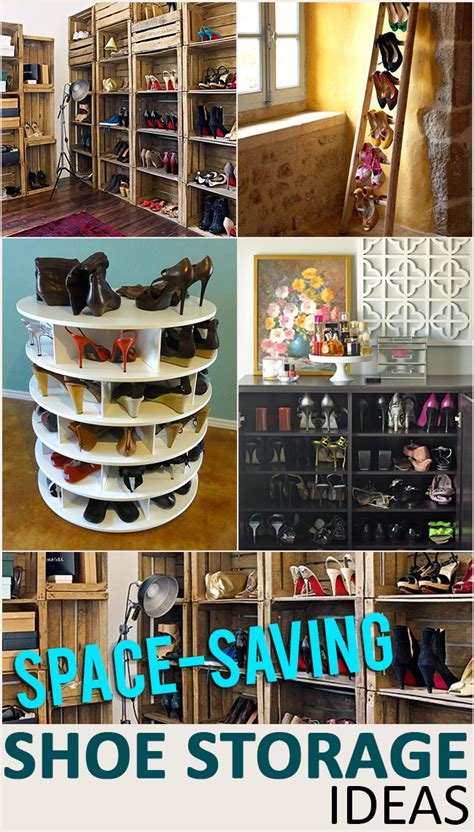 Storage Space Saving Ideas Space Saving Shoe Storage And Organization Ideas Page 7