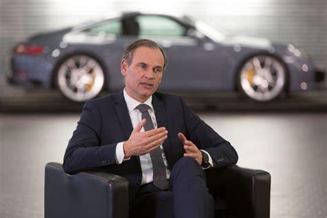 Oliver Blume Porsche by Porsche Verdoppelt Mittel F 252 R E Mobilit 228 T Auf 6 Milliarden