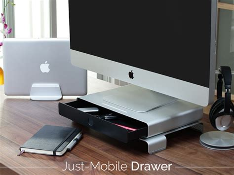 Just Mobile Drawer by Stay Organized With The Sleek Just Mobile Drawer Stacksocial