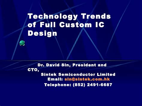 trends in integrated circuit technology integrated circuit technology pdf 28 images trends in integrated circuit technology 28