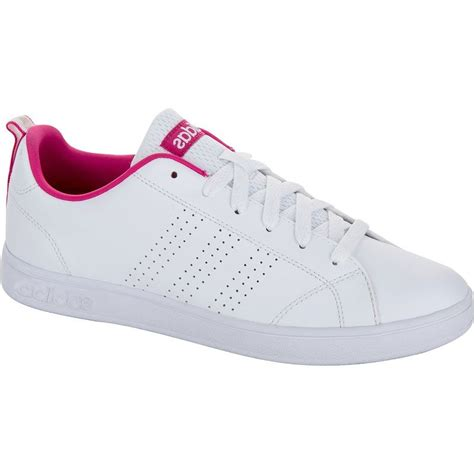 Adidas Neo Advantage Clean Vs White Pink For decathlon sports shoes sports gear