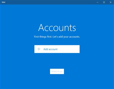 Windows 10 Search Email How To Setup Mail Account In Windows 10 Mail App Connectwww