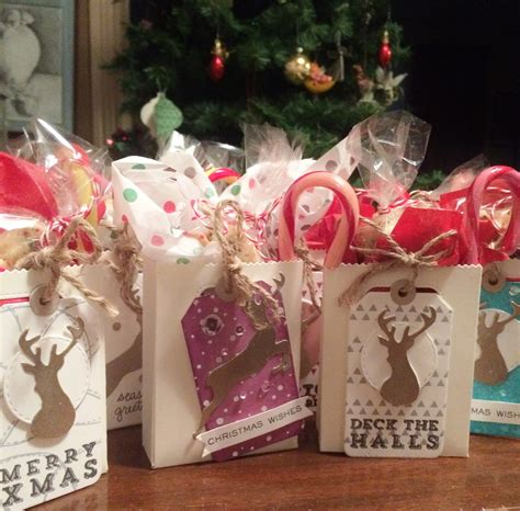 christmas tags goodie bags