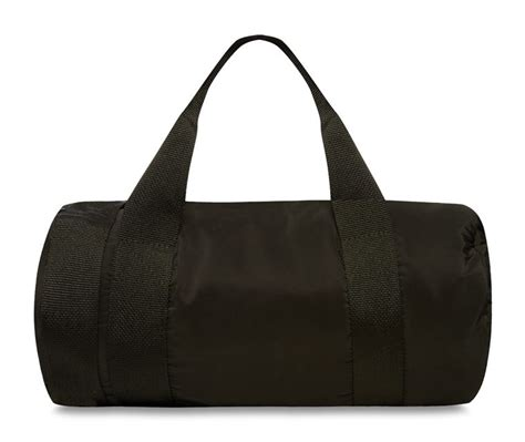 Large Printed Holdall From Primark by Primark Black Bag