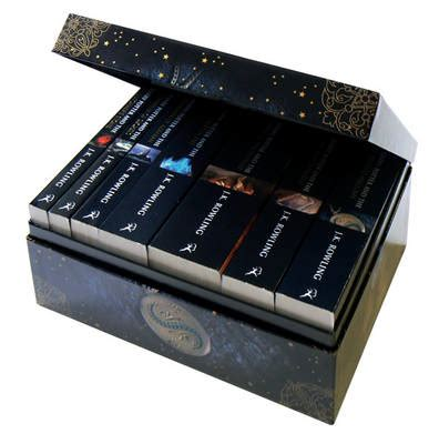 harry potter paperback boxed set edition by j k rowling waterstones