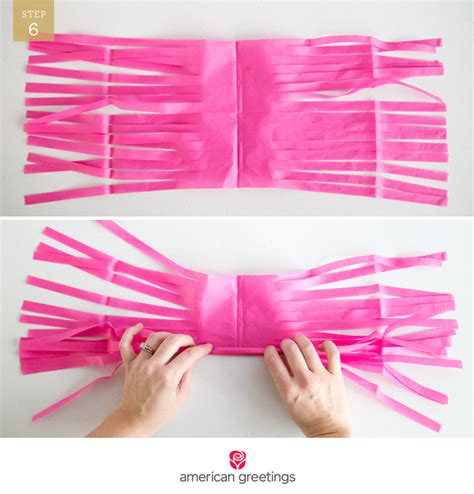 How To Make Tissue Paper Garland - diy tassel garland american greetings