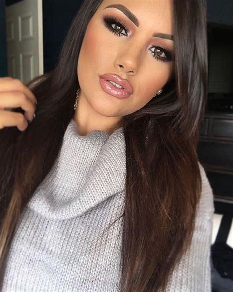 Ideas About Tan Skin Makeup On Pinterest Mac Cosmetics Gold Eye Makeup And Full Face Makeup