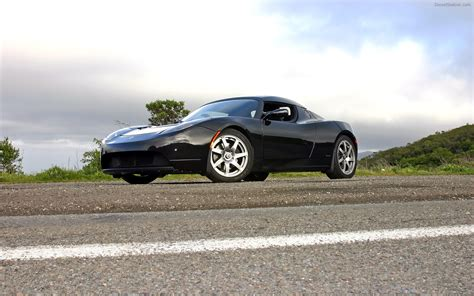 Tesla Roadster Sport Tesla Roadster Sport Widescreen Car Pictures 24 Of
