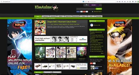 V Anime Website by Views