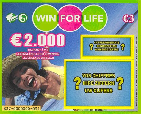 Win It With Lifestyle by Win 2000 Per Maand Met Win For Krasloten