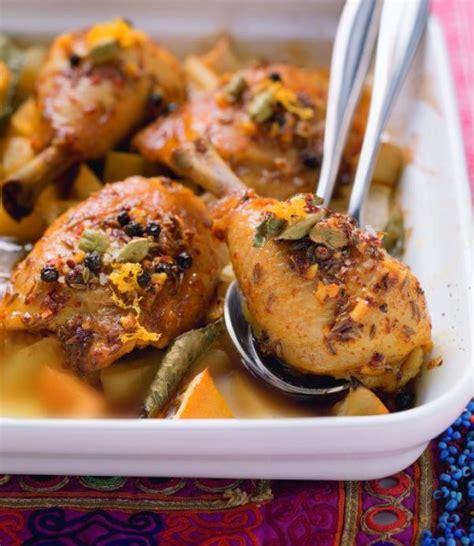 orientalische len rezept orientalische h 228 hnchenkeulen auf ofenkartoffeln