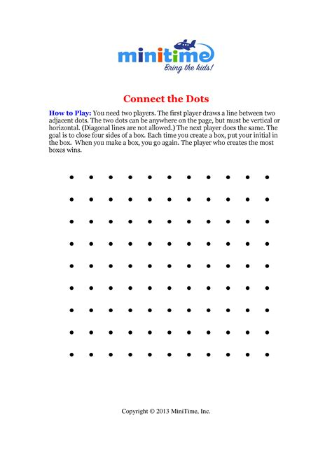 printable connect the dot games printable connect dots game pictures to pin on pinterest