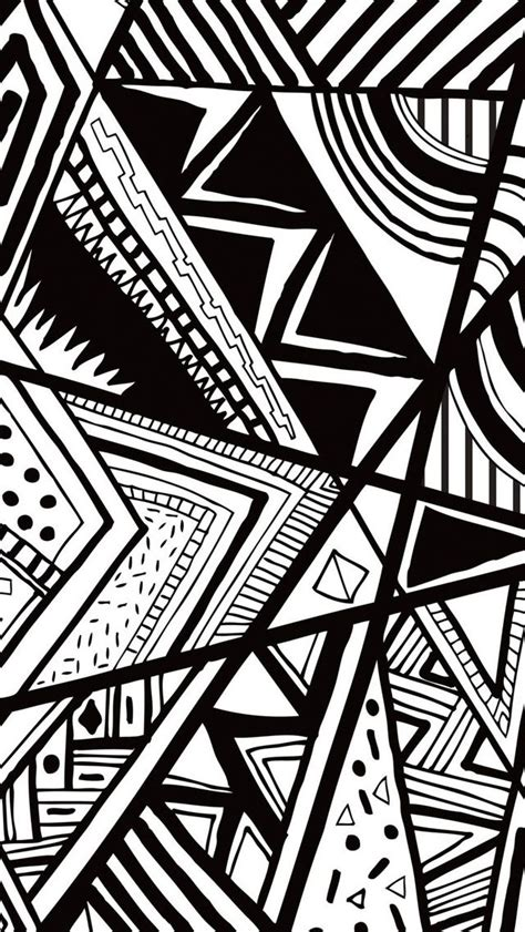 black and white wallpaper hd for iphone 5 black and white doodle iphone 5s wallpaper http www