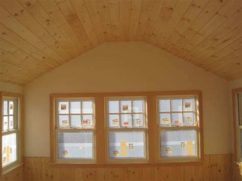 Pine Ceiling Designs by Pine Ceiling And Wainscoting C Decorating