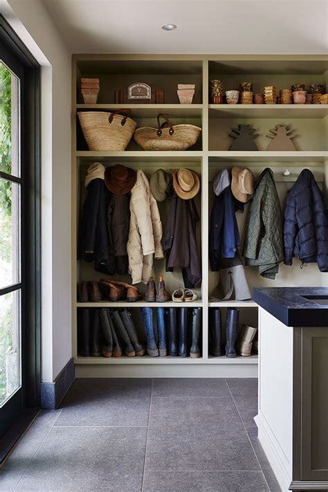 mudroom shelves 32 small mudroom and entryway storage ideas shelterness