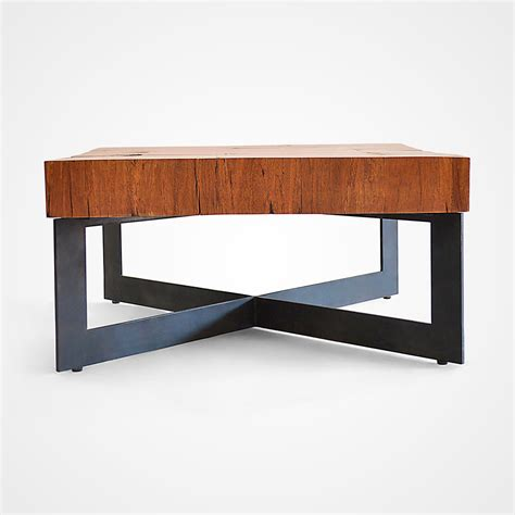 square metal coffee table square wood and metal coffee table civic wood and metal