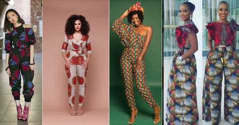 ankara jumpsuit styles rep your hood in great ankara jumpsuits styles