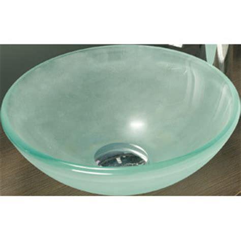 bonde vasque vasque verre depoli bonde