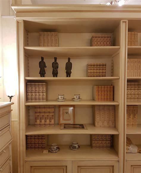 libreria laccata arredamento contemporaneo mobili country su misura siena
