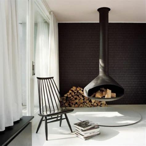 luxus hängematten freistehend dekor kamin