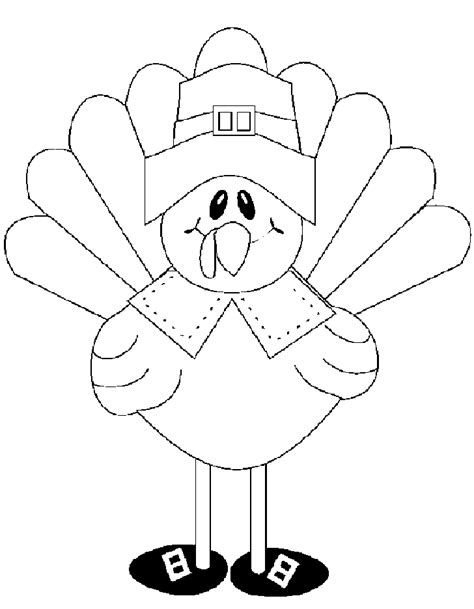 printable turkey to color preschool thanksgiving printables az coloring pages