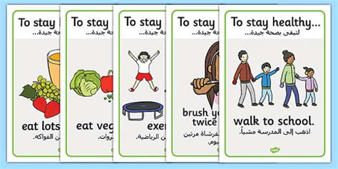 stay in the toilet meaning health and hygiene display posters arabic translation arabic