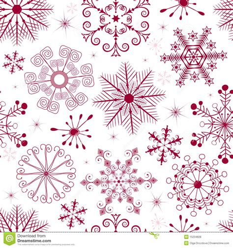 White Xmas Pattern | seamless white red christmas pattern royalty free stock