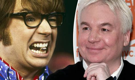 mike myers ray foster mike myers as austin powers returning star speaks at 20th
