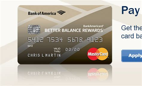 bank of america credit card make payment how to get a 30 bonus on better balance rewards cards