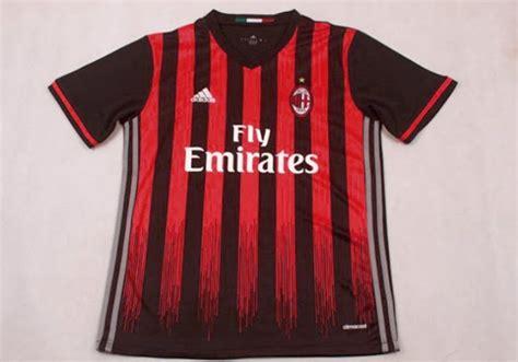 Jersey Go Ac Milan Home new jersey ac milan home 2016 2017 big match jersey