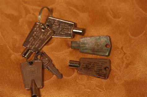 national cabinet lock key lot of 6 vintage national cabinet lock freezer steam