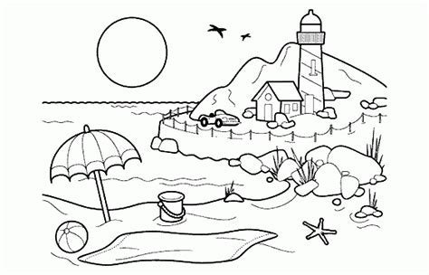 Christmas Night Scenery Coloring Beautiful Printable Pages For Adults To Print And Color High Printable Scenery Coloring Pages