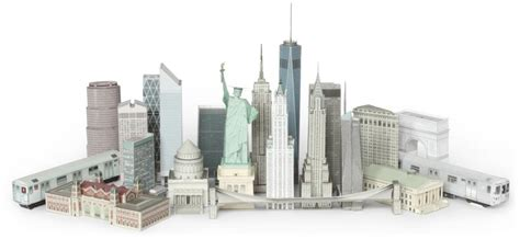 Building Your Own by Build Your Own New York Postcard Models