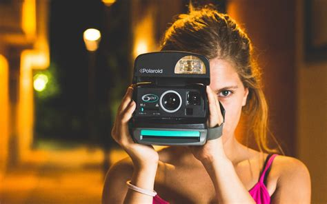 girl with camera wallpaper hd lady with polaroid camera hd wallpaper wallpapers new hd